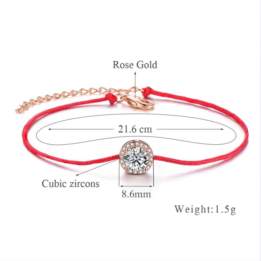 ERLUER מיקי שרשרת & קישור צמידים לנשים מתנות אופנה קלאסי ידידות קסם עלה זהב מסיבת חתונת צמיד תכשיטים