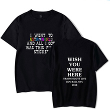 Travis Scott Wish You Were Here Printed T-Shirt – FREE Shipping
