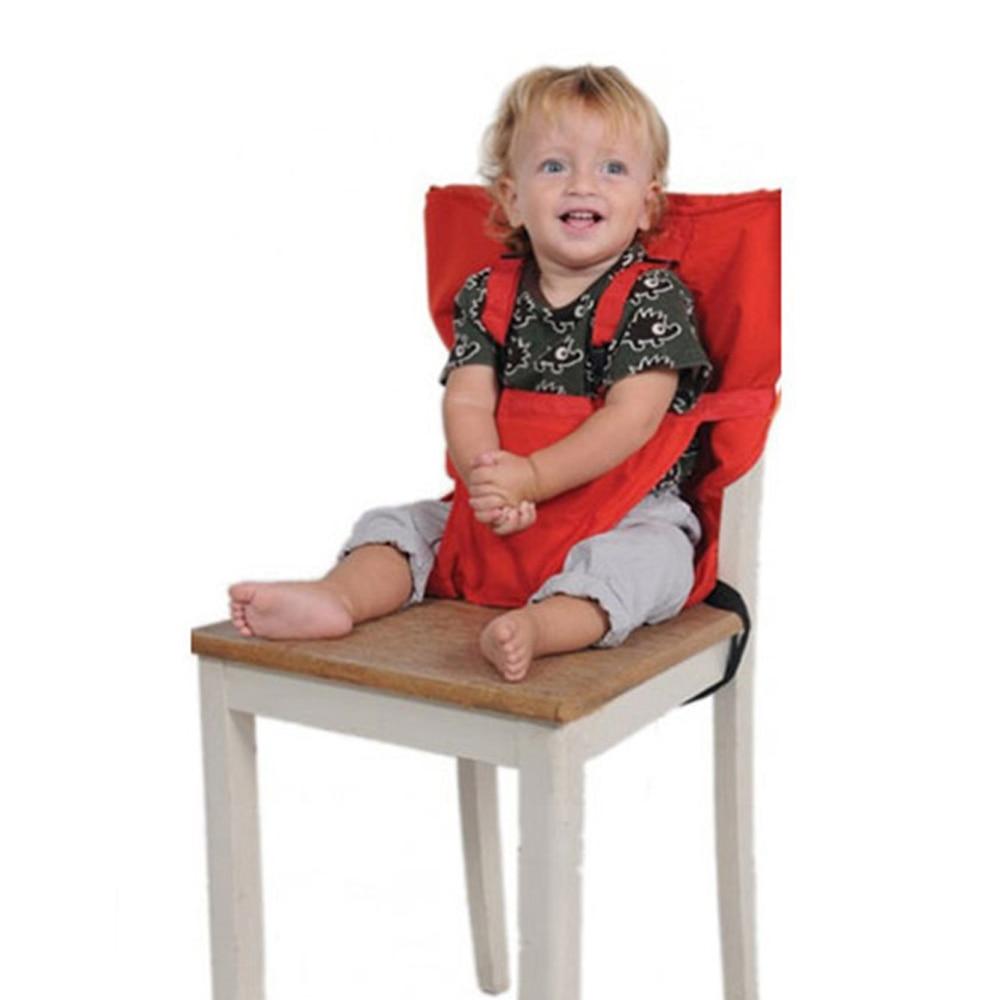 Chaise de sécurité pour bébé | Portable, marque de sécurité infantile, ceintures de siège, pliante, table à manger, produit repas déjeuner, harnais pour enfants, bb0029
