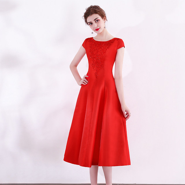 Online Shop Junoesque Red Evening Dresses 2018 Sexy Formal Evening
