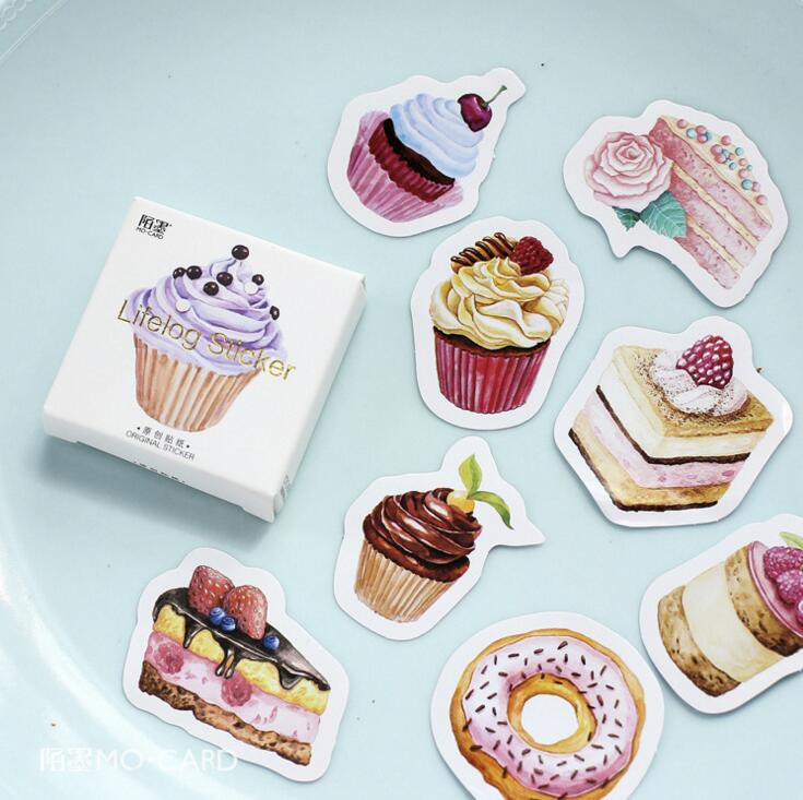 45 pcs/pack My Favorite Sweet Dessert Label Stickers Decorative Stationery Stickers Scrapbooking DIY Diary Album Stick Label(China)