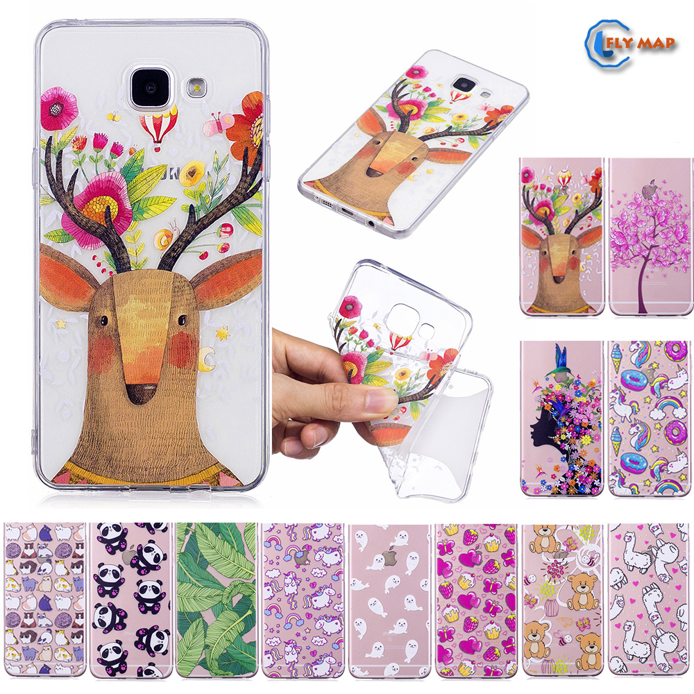 Fitted Case for <font><b>Samsung</b></font> <font><b>Galaxy</b></font> <font><b>A5</b></font> 2016 A510 A <font><b>510</b></font> Soft TPU Silicone Cover Phone Case A56 A510F/DS A510FD SM-A510FD SM-A510M Capa image