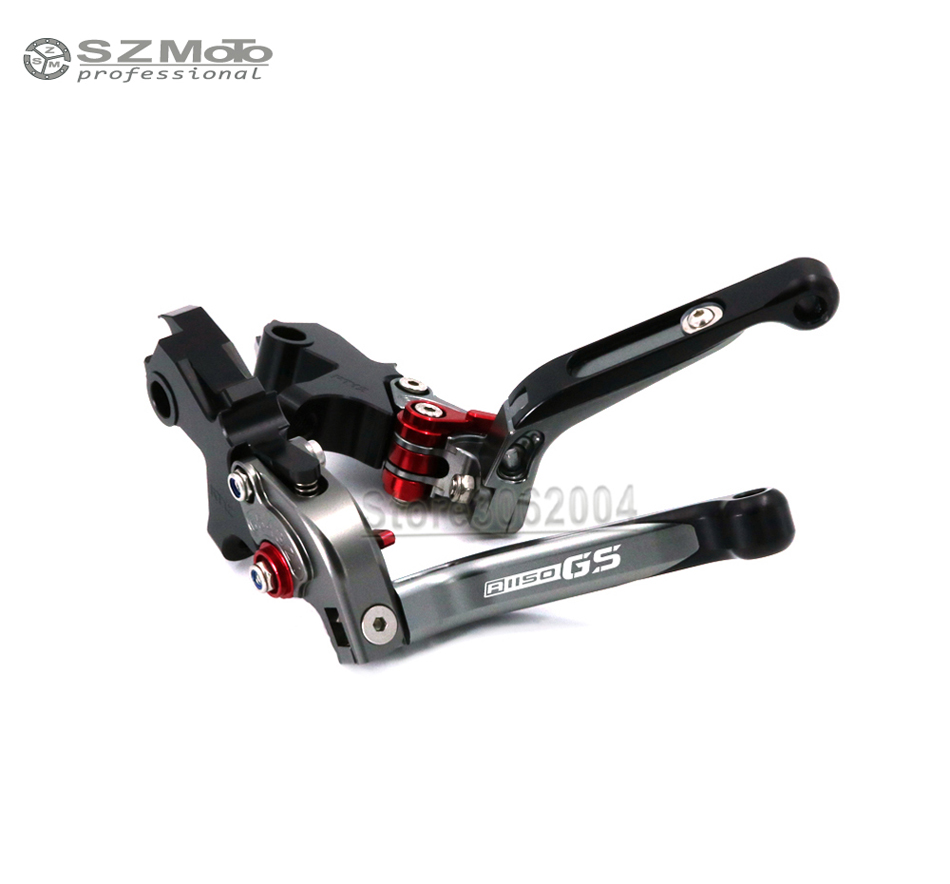 For BMW R1150GS 99 04 R1150 GS Adventure 02 05 Aluminum Motorcycle Accessories Folding Extendable Adjustable