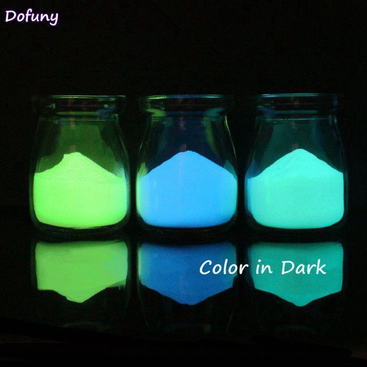 1 Box Fluoreszierenden Pulver Nagel Glitters Glow In The Dark Phosphor Pigment Für Nail Art Leuchtpigment Schönheit Werkzeug Tipps NüTzlich FüR äTherisches Medulla