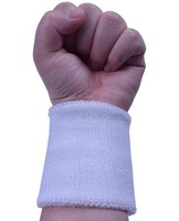 12 pcs volley-ball Bracelets basket-ball powerlifting poignet bande 100% Coton bandeau anti statique bande Soutien gym accessoires