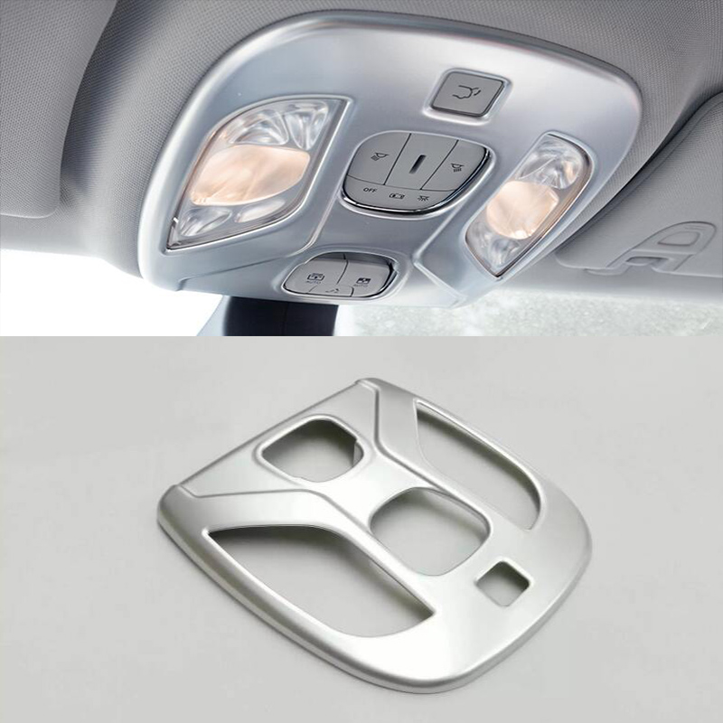 abs pearl chrome interieur verlichting leeslampjes trim cover jeep kompas 2017 2018 in abs pearl chrome interieur verlichting leeslampjes trim cover jeep
