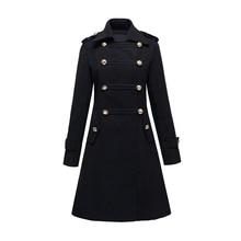 Классическое женское и мужское шерстяное пальто, осеннее и зимнее длинное двубортное шерстяное пальто, модное тонкое пальто