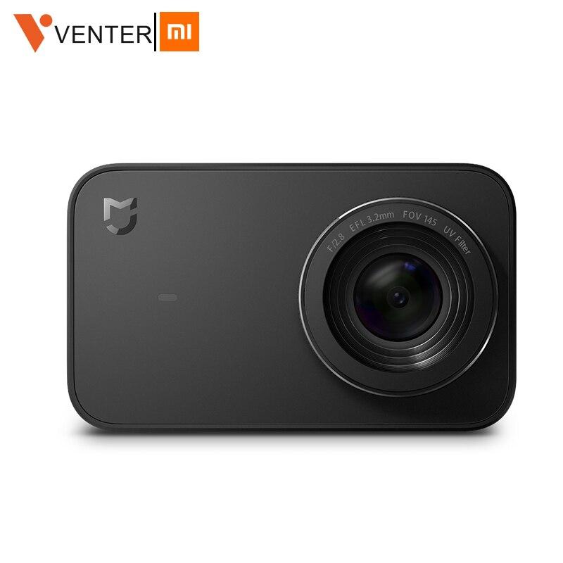Mondial Version Xiaomi Mijia Mini Sport caméra d'action 4 K Ambarella A12S Ramcorder Enregistrement Vidéo IMX317 WiFi appareils photo numériques App Co
