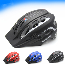 3 Colors Ultralight Cycling Helmet Breathable Bicycle Helmet Women Men Integrally-molded Bike Helmet Visor