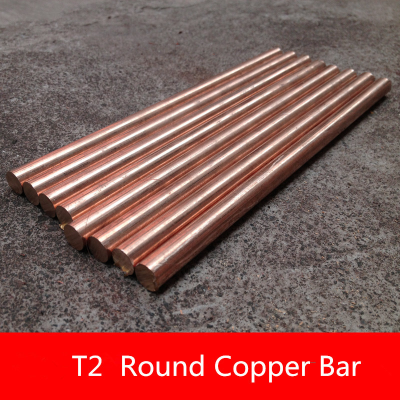 1PCS YT1352 Copper Rod Length 100mm Diameter 6mm Copper Stick Free Shipping Sell at a Loss T2 Copper Bar цена