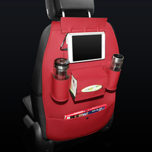 Car Seat Storage Bag for IPad Tab, Magazine, Tissue Box, Drink Bottles