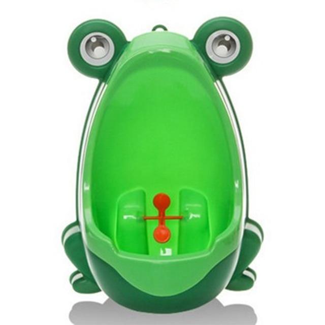 תינוק 4 צבע ילדי צפרדע אימון בסיר שרותים Stand בני פעוט תינוק פיפי Penico המשתנה אנכי רכוב קיר Dropship