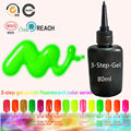 15 Neon Color Gel Nail Lacquers 80ml Nail Gel Primer Vernis Semi Permanent Blinkingel Gel Varnish Cody Esmalte Para Unha