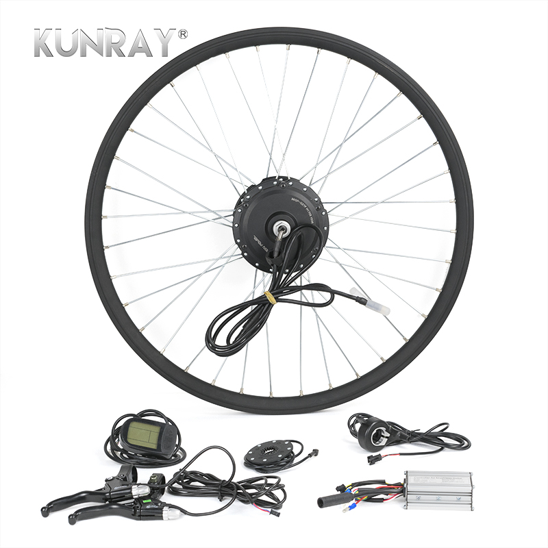 E-bike Conversion Kit Ebike Rear Drive 500W-1000W Hub Electric Bike Motor Kit