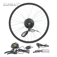 Electric Bicycle Conversion Kit G27F 36V 350W Hub Motor For 16 20 24 26 28 Bicicleta E bike Front Wheel Motors With LCD 5