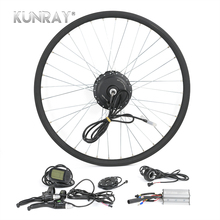 Electric Bicycle Conversion Kit G27F 36V 350W Hub Motor For 16″ 20″ 24″ 26″ 28″ Bicicleta E bike Front Wheel Motors With LCD 5
