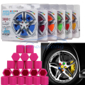 New 17mm car siliconewheel center hub cap cover rim screw cover colorful Car Styling Protective Bolt 20pcs