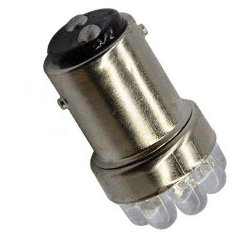 1Pcs Practical Replacement Car Stop Tail Bulb Lamps G18 1157 9 LED White Car LED Lights Car