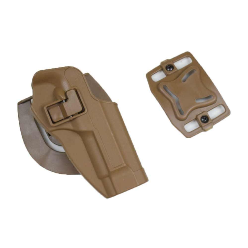 Negro Tan táctico pistola caso contra Airsoft Paintball funda para pistola Beretta 92 96 M9