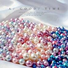 בציר קישוט מדומה פנינה שיפוע צבע בת ים של עיני חרוז תמונה צילום רקע קישוט פריטים עבור תכשיטי טבעת
