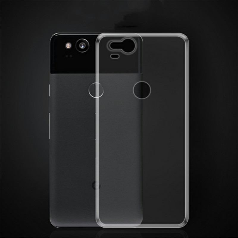 Coque For Google Pixel 2 XL Pixel 3 Case Invisible Armor Xtreme Slim Clear Soft Lightweight Rubber TPU Bumper Case Back Cover
