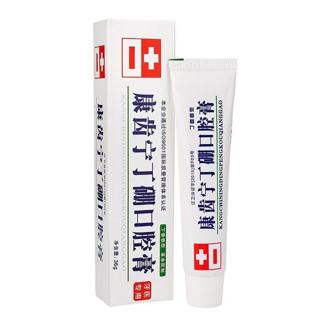 36g Anti-inflammatory Toothpaste Analgesic Deodorant Fresh Mouth Gingo Jian Dental Care Toothpaste Analgesic Oral Paste