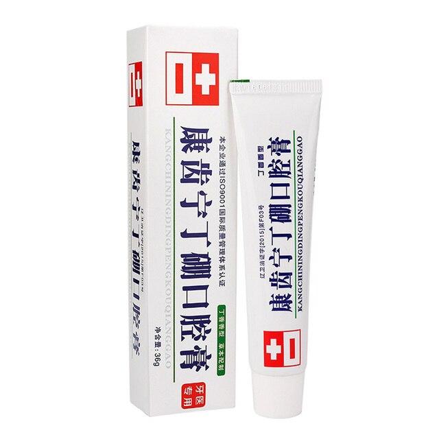 Pasta Dental antiinflamatoria de 36g desodorante de boca fresca Gingo Jian