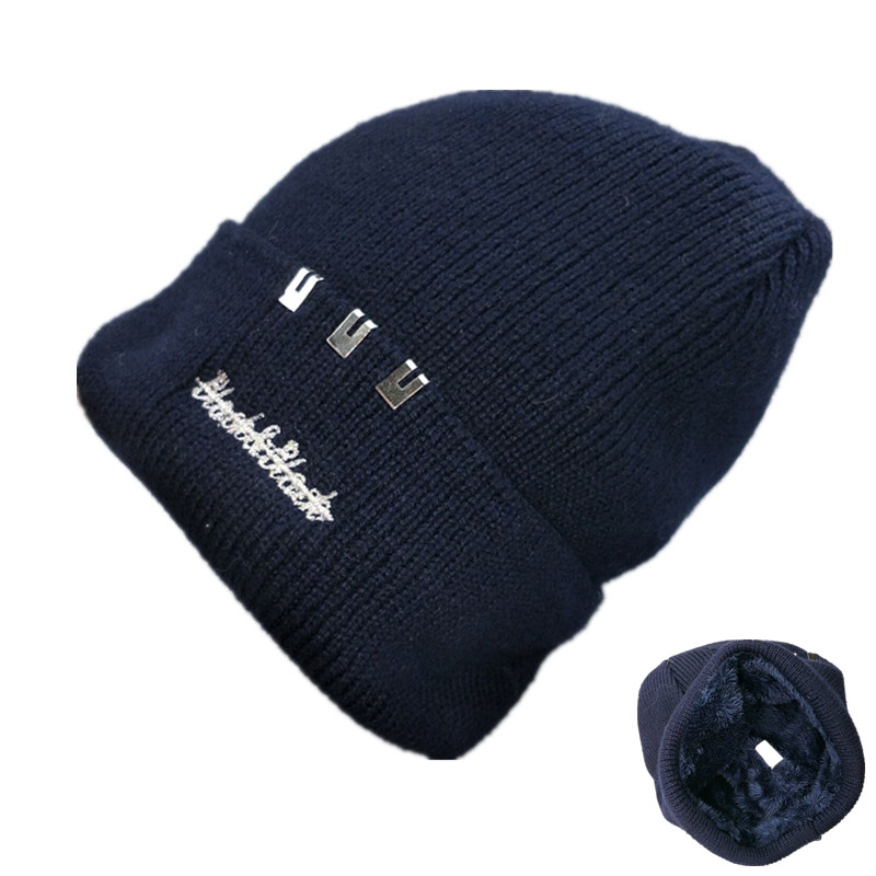 Wool Beanies Knit Men's Winter Hat Caps Skullies Bonnet Winter Hats For Men Women Beanie Warm Baggy Outdoor Sports Hat Fleece women s winter hats for men skullies beanies warm cap fashion solid colors outdoor caps unisex elastic beanies kintted wool hat