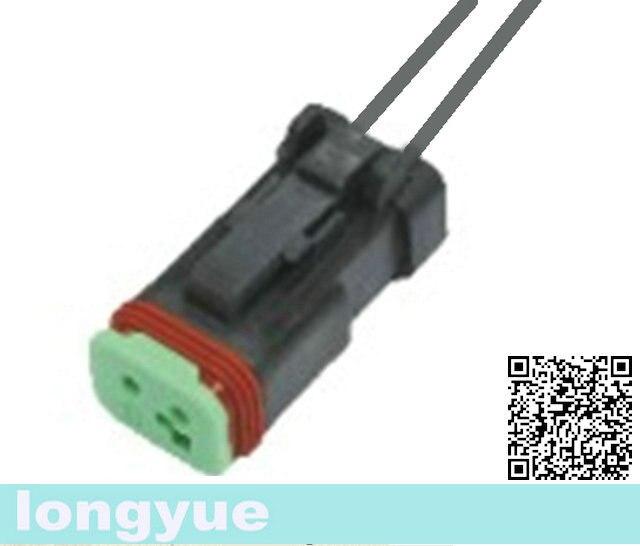 Longyue 2pcs Universal 2 Way Sealed Deutsch Connector