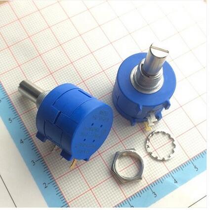 3590S-2-502L 3590S 5K ohm Precision Multiturn Potentiometer 10 Ring Adjustable Resistor  цены