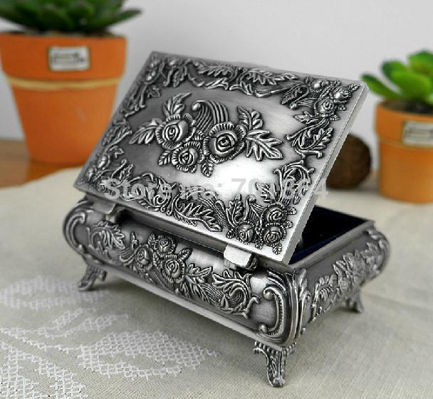 Accept. opinion, Vintage antique metal jewelry boxes alone!