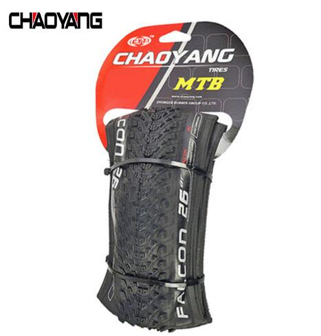 Chaoyang bicycle tire tyre mountain bike of 26/27.5/29 inch 1.95 folding tire puncture layer outer tire no tubeless