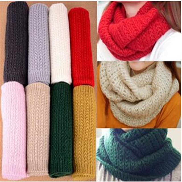 Потери! Зима мужской шарф женский пуловер теплый мохер трикотажные вязаный крючком шарф твердый зимний шарф SC0330