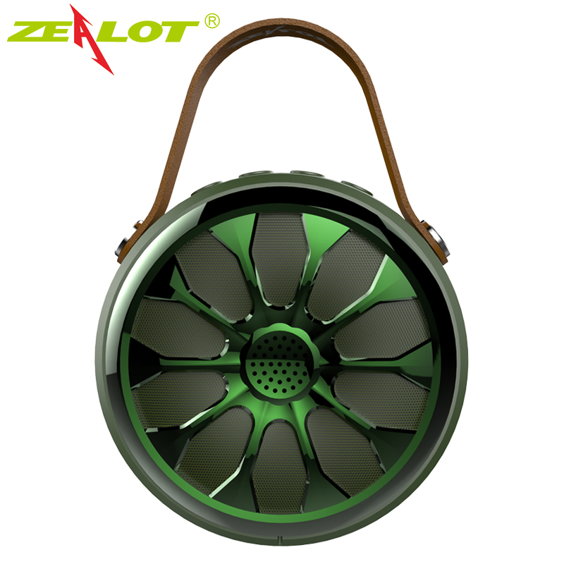 Zealot S11 Bluetooth Speaker Outdoor Waterproof IP67 Bass Stereo Wireless Speaker Sport Subwoofer Camping Power Bank Flashlight