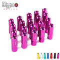 Dyno - Car Wheel Lug Nuts L: 60mm P:12x1.5/12x1.25 7075 Aluminum 20 Pieces/Set