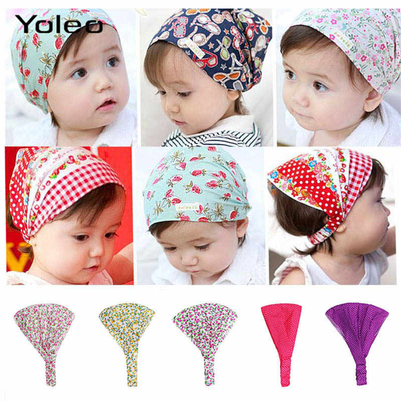 319d555085cab Spring Summer Autumn Baby Hat Cotton Girl Boy Cap Children Headbands  Toddler Kids Headwear Hats Newborn