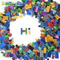 Bloques de construcción para niños educativos de regalo diy creativo estilo libre 1000 unids susengo model kits niños juguetes de ladrillo