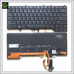 """Image 1 - אנגלית מקלדת עם תאורה אחורית עבור DELL Alienware 13 R1 R2 15 R1 R2 R3 R4 M13X M15X 04K8F6 0P30HM NSK LB1BC PK1316C1A03 ארה""""ב"""