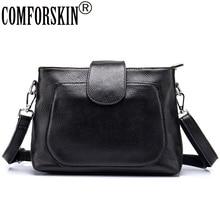 COMFORSKIN Women Messenger Bag 2018 Bolsas Feminina Brand Designer Genuine Leather European and American Style Shoulder Bags