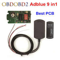 Adblue Emulator 9 in 1 Emulation Adblue 9in1 Not Need An Software Better Than Adblue 8 in 1 For 9 Type Trucks EURO 4&5 Free Ship