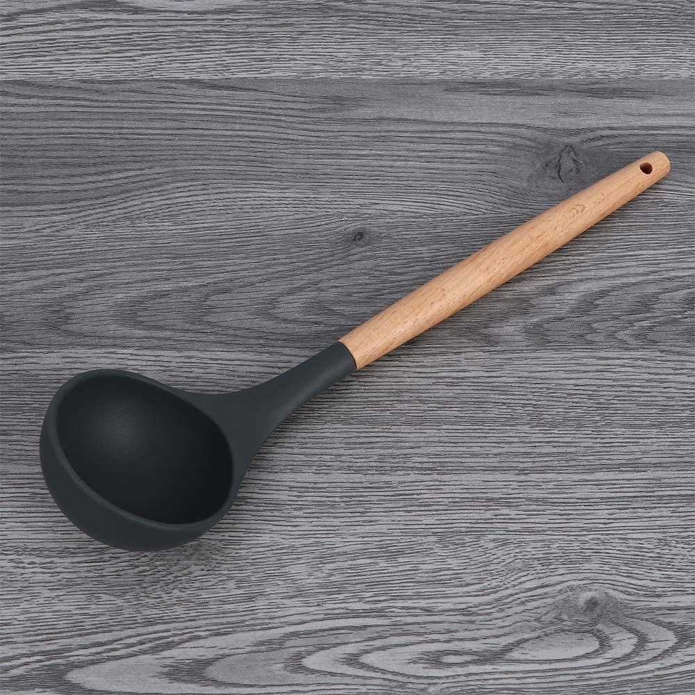 Kitchen Accessories Non-stick Silicone Cooking Gadgets Spatula Spoon Colander Shovel Kitchen Utensils DIY Cooking Tools