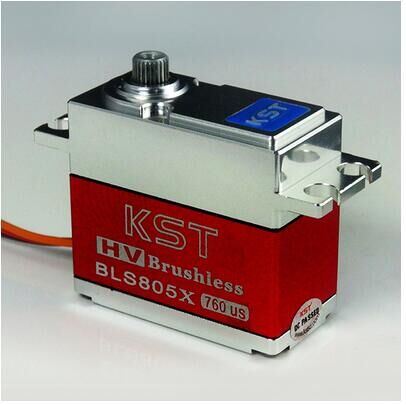 ФОТО KST BLS805X Brushless High Voltage Metal Gear Servo for 550-700 Helicopter Big sale