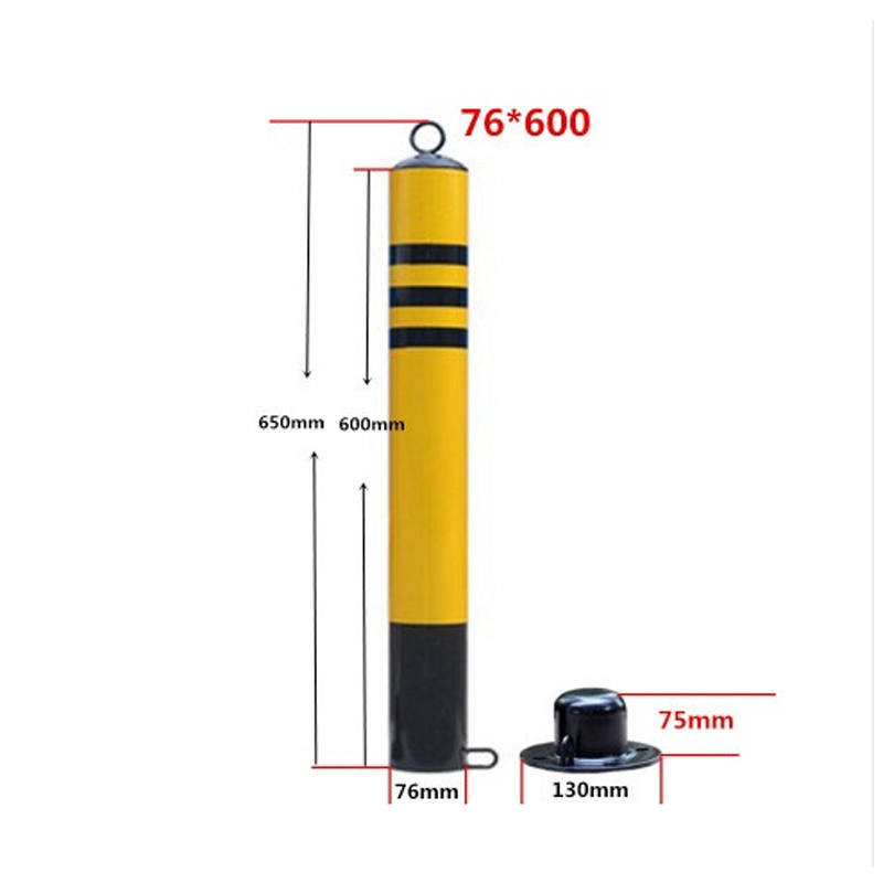 Thickening Parking Parking Lock Activities Column Column Buffer Pillar Protection Pile Mobile Road Parking Space With Lock