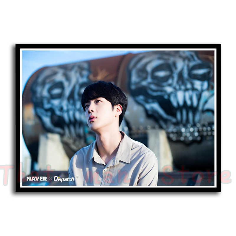 K-pop Posters BTS Members Wall Stickers Home Decoration Livingroom Bedroom Print