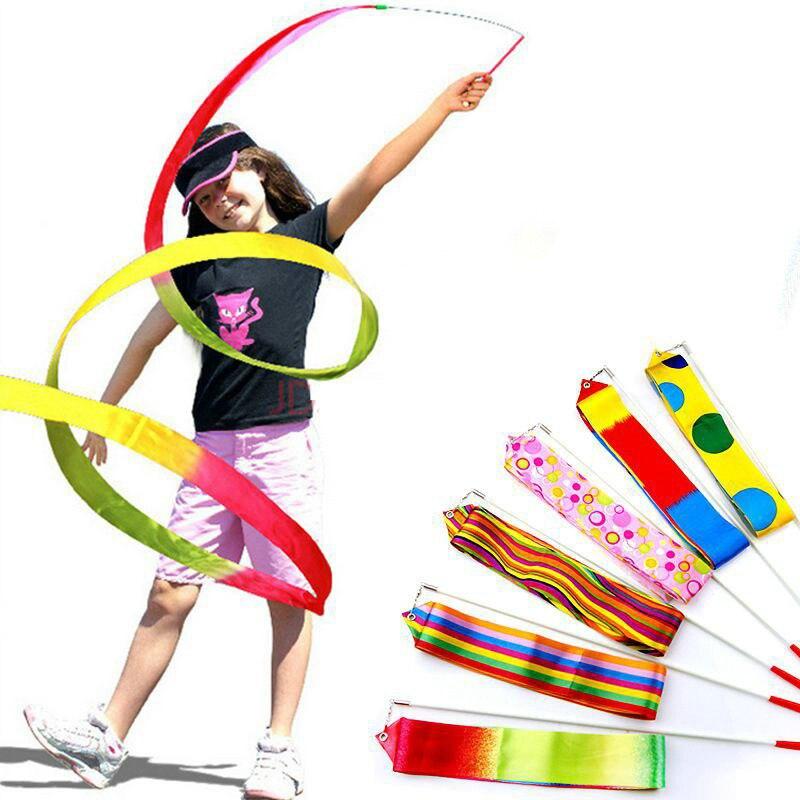 Красочная детская игрушка, лучший подарок для мальчиков и девочек, уличная танцевальная группа Hyun, 4 метра, балетная художественная палка