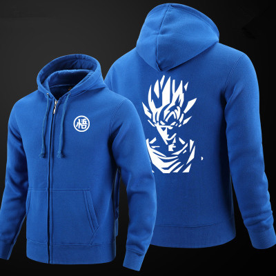 Dragon Ball Z Thick Zipper Hoodie Sweatshirts