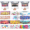 US Layout Pattern Silicone English Keyboard Skin Protection Sticker For 13 15 17 Mac Macbook Air