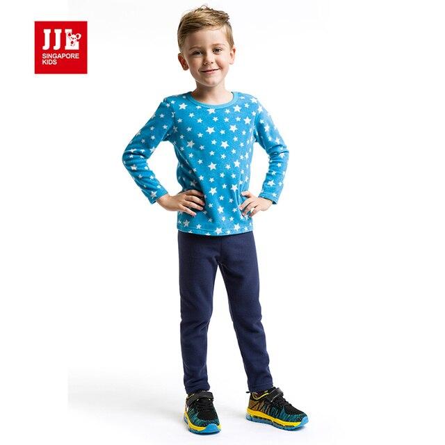 89adae4233 kids suits boys sleepwear pajamas for kids winter polar fleece children s  sets star pattern baby boy clothing set nightwear