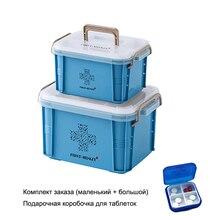Аптечка Органайзер медицинский ящик пластиковый контейнер для хранения большой многослойный медицинский ящик скандинавские домашние ящики-органайзеры