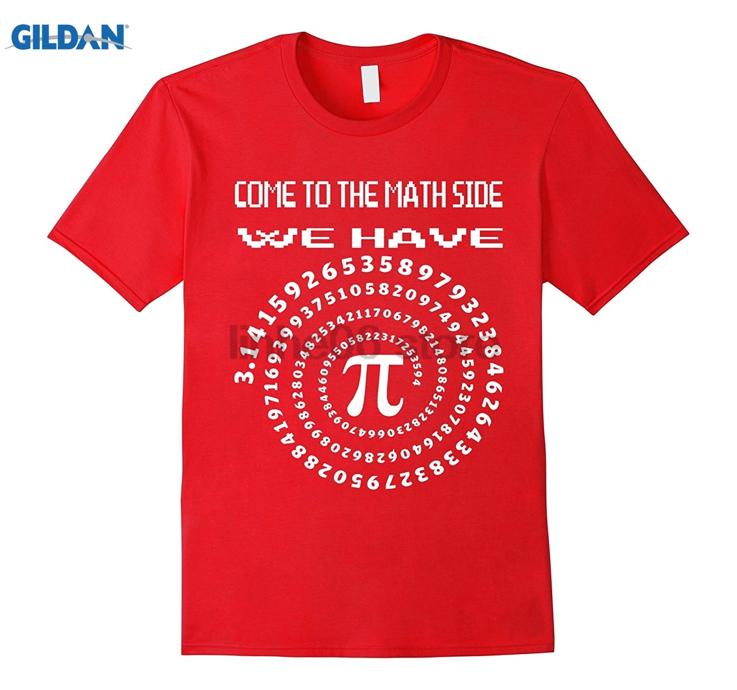 GILDAN Come To The Math Side We Have Pi day 2017 T- Shirt Dress female T-shirt